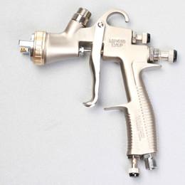 Wholesale Lvlp Gun - LVLP Air Spray Gun MP410G Auto Paint Car Primer Detail Basecoat Cleacoat 1.3mm Tip 600CC Paint Pot Gravity