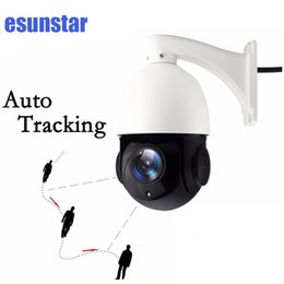 Wholesale Dome Ptz - Auto Tracking 1080P IP PTZ 2.0MP 20x Optical zoom PTZ IP66 OUTDOOR IR high speed dome Network