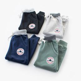 2019 12 meses ropa de marcas para niños niños de 2 a 8 años niñas caen pantalones deportivos, pantalones de moda infantil, bebé otoño / primavera, ropa de niños boutique, 6AZB809LG-14