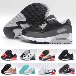 54d7200266ab8 baskets filles taille 2.5 Promotion Nike air max 90 Sneakers Enfant Presto  90 II chaussure Enfant