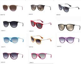 Deutschland Top Qualität Neue Mode Sonnenbrillen Für Mann Frau Erika Brillen Designer Marke Sonnenbrille Matt Leopard Gradienten UV400 Linsen Box und Fällen Versorgung