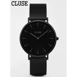 Wholesale watches retail men - NEW AAA CLUSE MEN Women Watch Watches SPORT STEEL BELT CHRONOGRAPH BEST QUALITY RETAIL