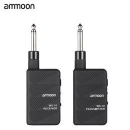 2019 aile de pont Ammoon WS-10 Digital 2.4 Ghz Audio Émetteur Récepteur guitare électrique sans fil