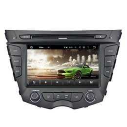 Wholesale touch screen radio navigation - 7Inch two din andoid 6.0 CAR DVD Player gps navigation FOR Hyundai VELOSTER 2012 2013 2014 2015 with GPS navi built in wifi