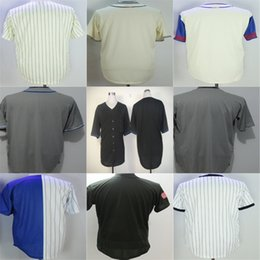 Wholesale Base Number - 2017 Mens Ladys Kids Chicago Throwback Blank Jersey Customized Name Number Cool Base Home Grey Black Retro White Green Baseball Jerseys