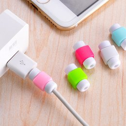 Wholesale Cord Charger For Ipad - USB Data Charger Cable Saver Protecter For iPhone X 8 7 6 plus 5se ipad USB Cables Charger Plug Wire Cord Protective cover All cable