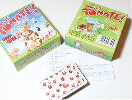 Wholesale Family Fun Party - Poopyhead Card Games UNO Alles Tomate Game Where Number 2 Always Wins Family Party Fun Board Games Tricky Toys