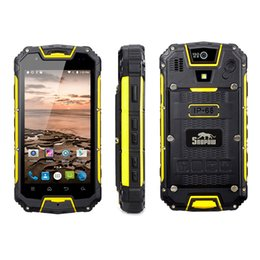 Wholesale Rugged 4g Dual Sim - Fation Snopow M5P Full Bands IP68 Waterproof 4G LTE Rugged Smartphone with UHF Walkie Talkie 2GB+16G NFC 13.0MP rear camera mobile Phone