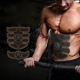 Wholesale Function Training - NEW EMS abdominal exerciser Device Multi-Function Hous abdominal muscles intensive training Electric Weight Loss Slimming Massager