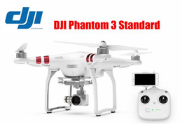 Drones gps online-Original DJI Phantom 3 Drones RC estándar con 2.7K Cámara HD GPS incorporado FPV Drone Quadcopter con cámara
