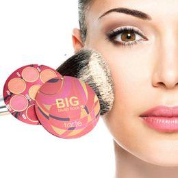 2018 NEW Makeup Face Brand BIG Blush Book Volume Cosmetics Highlighter Powder & Blush Palette 8 Color Cheek Makeup Palettes Free Shipping