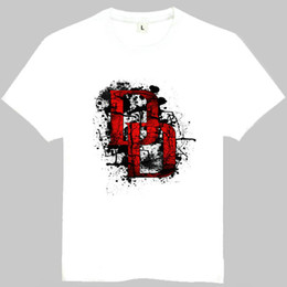 Wholesale Matt Film - Daredevil t shirt Matt Murdock hero short sleeve gown Film tees Leisure printing clothing Quality cotton Tshirt