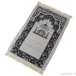 Wholesale Nouvelle arrivée cm mince voyage tapis de prière islamique tapis tapis pour culte Salat Musallah tapis de prière Banheiro tapis de prière islamique Tapis