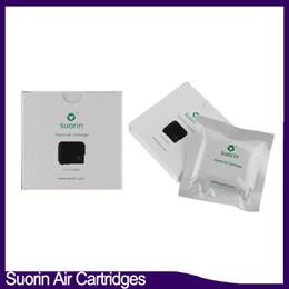 Cartouche rechargeable en Ligne-Suorin Air Pods Cartouches 2 ml Remplacement de la tête de bobine de cartouche de rechange rechargeable pour Suorin Air Vaping Kit 0266241