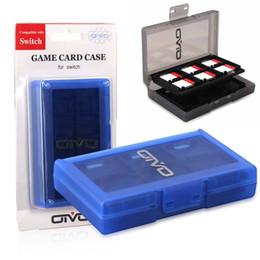 Caja de protección portátil 24 ranuras tarjeta de juego Caja de cartucho duro para cambiar tarjetas de juego NS NX desde fabricantes