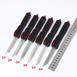 2019 new knife collection 2018 Miker New 6 Lâmina de Guerra-Star D2 Lâmina Dupla Ação Caça Bolso Facas Coleção Automática de Presente de Natal Para homens desconto new knife collection