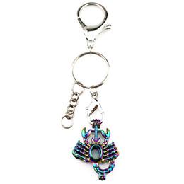 Gümüş Kaplama Anahtar Zincirleri Anahtarlık Anahtarlık Toka ile Gökkuşağı Renk Akrep Inci Boncuk Kafes Locket Kolye Güzellik Hediye Y182 nereden akrep gümüşü tedarikçiler