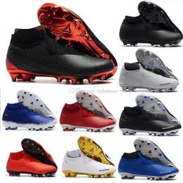 separation shoes 2602e 1f85c 2018 Neue Ankunft Phantom Vision Elite Fußballschuhe für Chaussures Super  Multicolor Herren Neymar TF VSN DF AG-PRO Fußballschuh Größe 39-46
