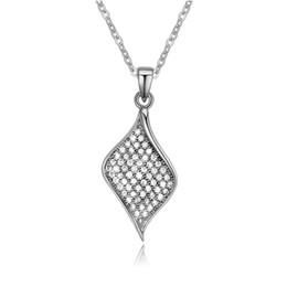 2019 collana di classe Collana in zircone micro-set classiche classiche per donna, ciondolo gioielli coreano sconti collana di classe