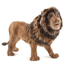 2019 figures d'animaux de la forêt Monde animal Forêt Sauvage Animaux Modèle Cognitif Simulation Lion Décoration Action Chiffres Jouets Apprendre Éducatif figures d'animaux de la forêt pas cher