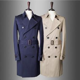 Frühling und Herbst neue Mode groß europäischen und amerikanischen Stil zweireiher Temperament schlanke Trenchcoat