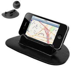 Support de navigation GPS de silicone de vente de voiture anti-glissement durable de voiture noire PDA iPad PC téléphone anti-support de bâti fit pour la plupart des voitures ? partir de fabricateur
