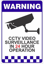 Wholesale Video Arts - all best Warning cctv video Vintage Tin Signs Retro Metal Sign Painting Decor The Wall Of Bar Cafe Pub Shop Restaurant Mixed designs