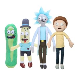 Wholesale Mr Natural - Adult Swim Rick and Morty Season 3 American Cartoons Pickle Rick Sanchez Morty Smith Mr Poopybutth Plush Stuffed Doll Toys