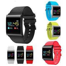 Buceo profesional online-X9 Pro Smart Wristband IP67 Impermeable Natación Buceo Podómetro Fitness Monitor de ritmo cardíaco Presión arterial Pulsera inteligente