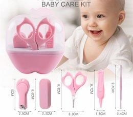 Conveniente Cuidado de las uñas del bebé Aseo Práctico Recortador de las podadoras Daily Baby Cepillo para el cabello Conjunto de cuidado del bebé Kits de salud Clipper Scissor desde fabricantes