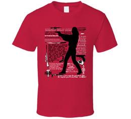 2019 marchio jersey Contrassegnato per Death Steven Seagal Movie Quotes T Shirt T shirt jersey T-shirt stampata sconti marchio jersey