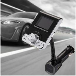 Usb-blitz-antriebsspieler-auto online-USB Auto Ladegerät FM Transmitter Auto MP3 Player Wireless Bluetooth FM Modulator Unterstützung Flash Drive