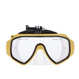 originale xiaomi yi camera Sconti Occhiali da sub originali per occhiali Xiaomi Yi Action Sport Camera in vetro temperato per adulti Maschere subacquee