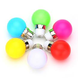 Wholesale Cree Night Light - G45 LED Light B22 1W Energy Saving Mini Bulb Lamp 110-220V Night Light Decoration White Red Blue Green Yellow Pink 10pcs lot