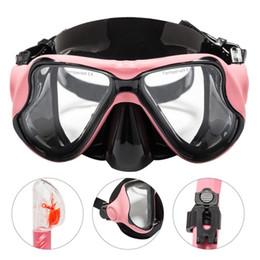 2019 tubo de silicona nuevo 2018 Nueva Arrvial Anti-niebla HD Adulto Silicona Buceo Máscara Gafas Tubo de Respiración Set Equipo de Buceo tubo de silicona nuevo baratos