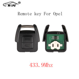 Wholesale astra key - RIN 2Buttons 433Mhz Car Remote Key For OPEL VAUXHALL Vectra Zafira Omega Astra Auto Control Alarm NO Blade