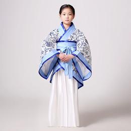 e27b8aa7341 Nouveau Chinois Ancienne Princesse Jupe Costume Bébés Filles Hanfu  Vêtements National Enfants Performance Costume Floral Cosplay Vêtements  jupe de costume ...