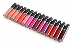 Maquiagem original on-line-Direto Da fábrica DHL Frete Grátis New Makeup Lips Placa Original Retro Matte Lip Gloss Fosco Batom Líquido! 5 ml