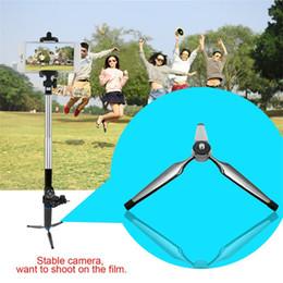 extensões móveis Desconto Dobrável Mini Tripé para Tripé de Câmera Digital Tripé de Telefone Celular Monopé para Polvo de Extensão de Telefone