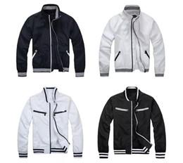 2018 Nuovo stile di vendita calda primavera e autunno uomo inverno zip trim giacca giacca a vento stile sottile sud coreano da