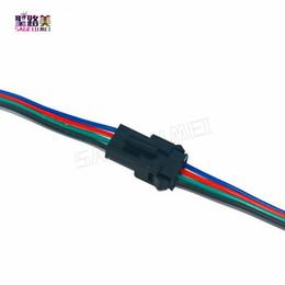 50 paires / set 4 broches JST SM connecteur mâle à femelle 4 broches connecteur connecteur fil câble pour 5050/3528 LED bande RVB ruban lumineux ? partir de fabricateur