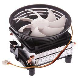 Heat pipe cobre on-line-PCCOOLER Sete-ponto V4 cpu radiador Full cobre 2 tubo de calor Para AMD / intel cpu silencioso ventilador