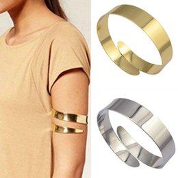 Pulseira para o braço on-line-Novo Egito Cleópatra Redemoinho Cobra Braço Cuff Armlet Armband Bangle Bracelet