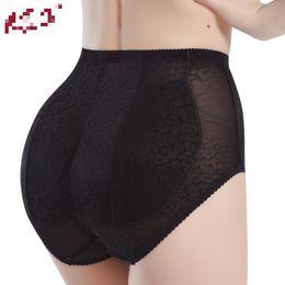 2019 trasero de la cadera 2 colores Sexy Panty Braguitas Buttock Backside Bum Acolchado Butt Enhancer Cadera Hip Up Ropa interior Insertar panty regordeta rebajas trasero de la cadera