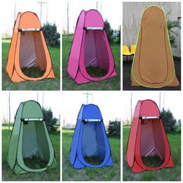 Robes ombragées en Ligne-Tente extérieure automatique multi fonction avec longe Dressing Shelters Pêche Sun Shading Single Layer Tentes Windproof Vente chaude 55bq B