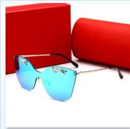lunettes de soleil à film réfléchissant Promotion 2018 nouvelles dames rétro lunettes de soleil en plein air touriste rue photographie lunettes de soleil film coloré lunettes réfléchissantes 00112 Livraison gratuite 10pairs