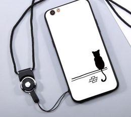 i casi animali animali del iphone all'ingrosso Sconti vendita all'ingrosso moda cartoon cat cover per iphone 7 plus case cut cat animal silicone morbido tp phone case
