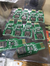 Dongle sim online-NUEVO dongle USB 2.0 para desbloquear la tarjeta SIM Actualizando la información de la versión con envío gratis