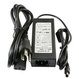 Wholesale 12v 6a 72w - 100% 6A 72W 12V Transformer Adapter Charge For LED Strip Light CCTV Camera + 1.2m Cable With EU AU US UK Plug