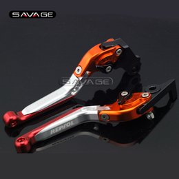 Wholesale honda repsol motorcycle - For HONDA CBR250R CBR300R CB300F CBR500R CB500F CB500X CB190R CB190X Motorcycle Folding Extendable Brake Clutch Lever REPSOL